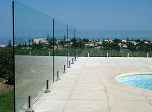 swimming pool safety fencing, algarve, portugal